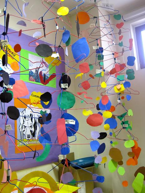 Calder Mobile Art Lesson