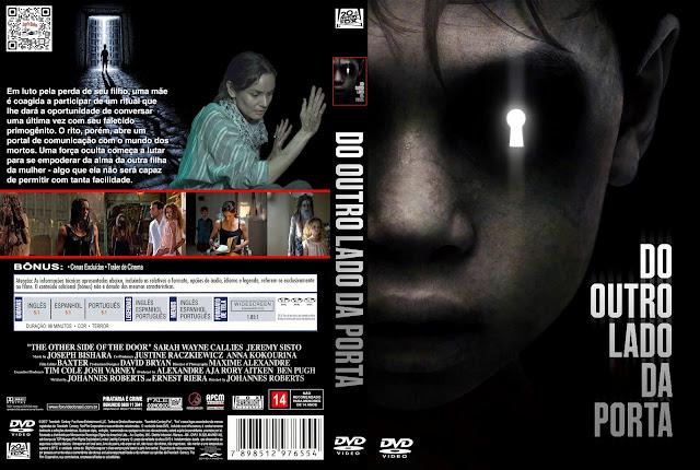 Capa DVD Do Outro Lado da Porta [Custom]