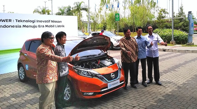 Mobil listrik Nissan e power
