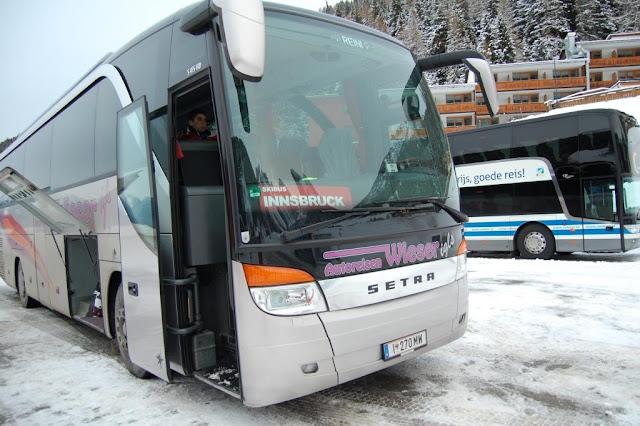 Ски Бас(SkiBus) для горнолыжников бесплатно из Инсбрука
