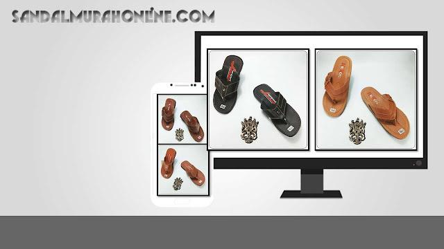 Sandal Imitasi Pria ELF- Sandal Imitasi Kulit Bahan Premium