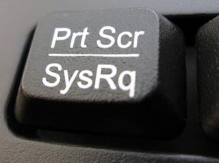 computer print screen