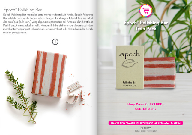 Promo Nu Skin Epoch Polishing Bar September 2020