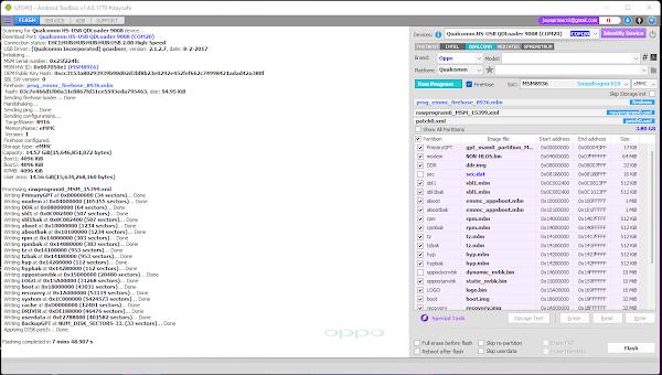Cara Mudah Flash dan ByPass FRP Oppo A37FW