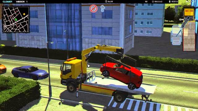 Towtruck Simulator 2015 PC Games Gameplay