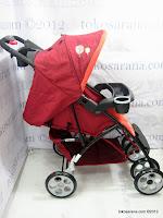 2 BabyDoes CH415 SkyLine LightWeight Baby Stroller