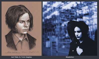 Jack White. Singer-Songwriter and Producer. Blunderbuss. Third Man Records. by Travis Simpkins