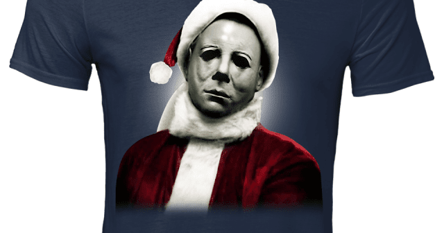 Santa Michael Myers Christmas Sweater