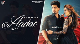 Aadat Lyrics - Singga