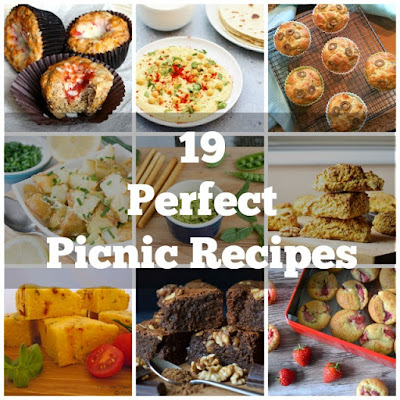 This collection of 19 vegetarian picnic foods provides great inspiration for when you're planning your next family picnic.