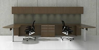 2 Person Modular Office Desk