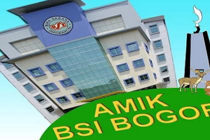 Pendaftaran Mahasiswa Baru (AMIK BSI Bogor-Jawa Barat) 2021-2022