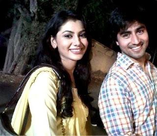 Sriti Jha with Kunal Karan Kapoor