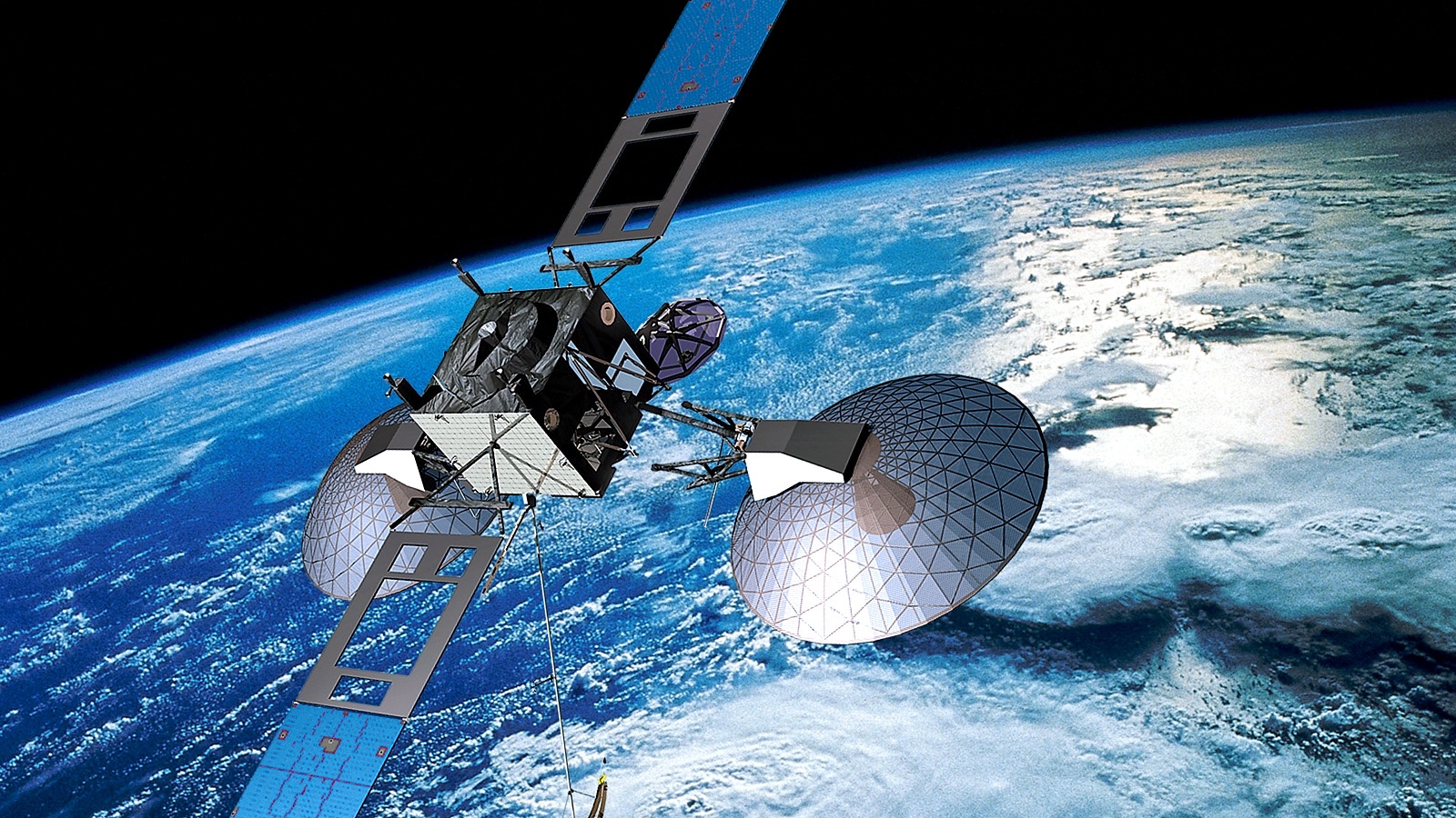 South Pole  munication Satellites