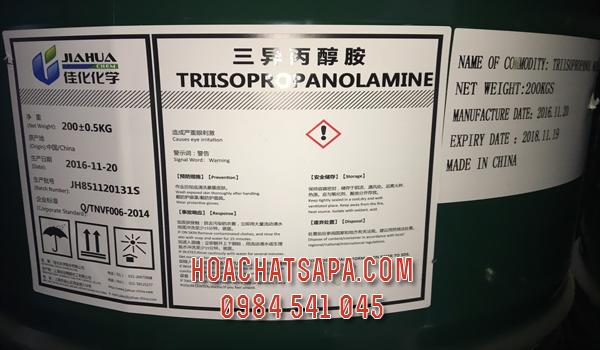 Triisopropanolamine TIPA | Chất trợ nghiền xi măng