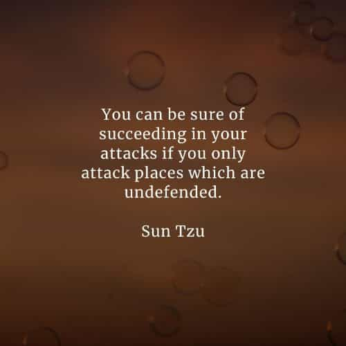 Famous quotes and sayings by Sun Tzu