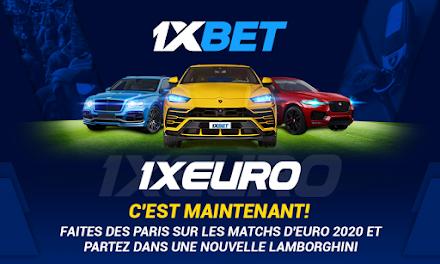 1XEURO : Gagnez des supercars Lamborghini, Bentley et Jaguar dans la nouvelle promotion 1xBet avec une cagnotte de 1 000 000 $ !