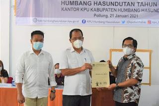 KPU Humbahas Tetapkan Dosmar Banjarnahor dan Oloan P. Nababan Sebagai Bupati dan Wakil Bupati Terpilih