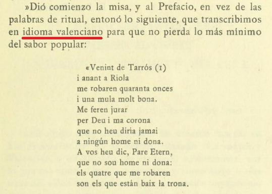 Francisco Martínez y Martínez, El folklore valenciano en el Don Quijote, 1922