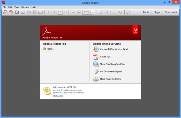 Adobe Reader 11: the essential PDF viewer