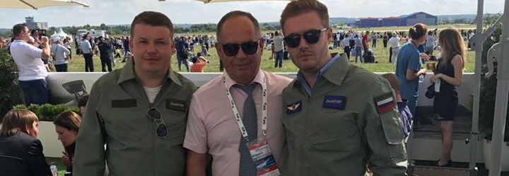 Новий директор авіазаводу Укробопрома полюбляє вдягатися у російську військову форму