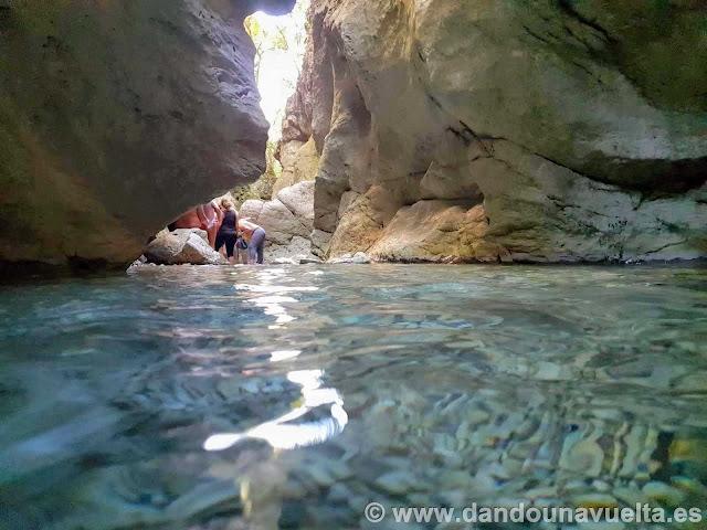 Poza río Bocaleones. Zahara de la Sierra