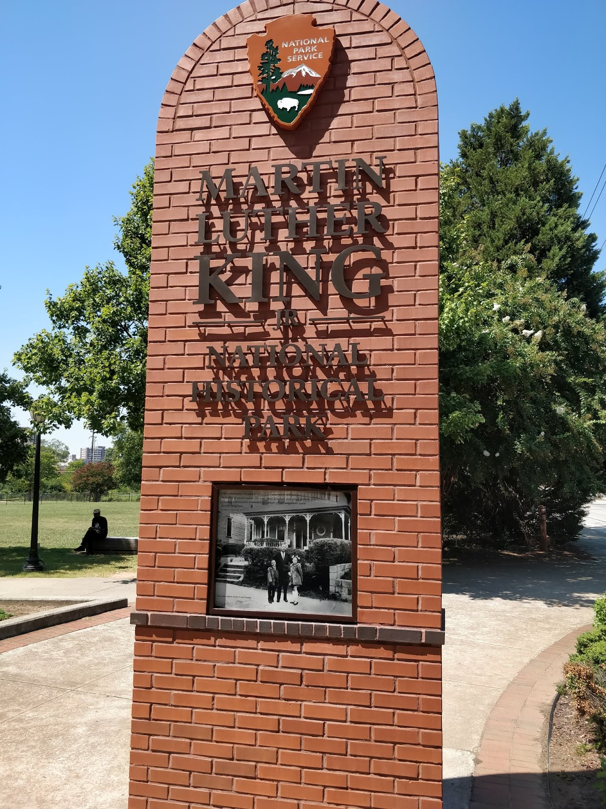 Cultured Individual Visiting The Martin Luther King Jr National Historical Park