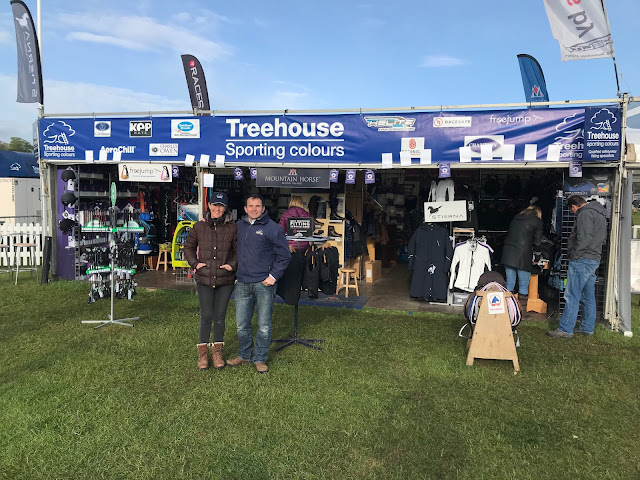 Treehouse Sporting Colours, Badminton Horse Trials, equestrian retailer, equestrian shop, horse event