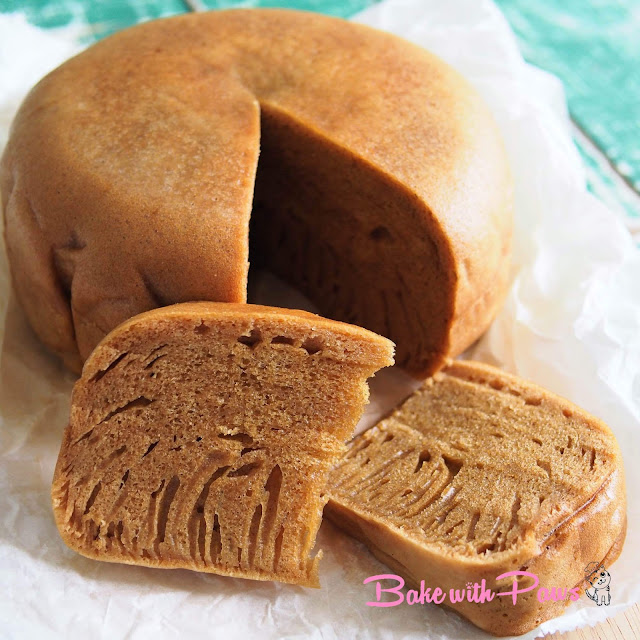 Sourdough Ma Lai Gao (Steamed Sponge Cake)