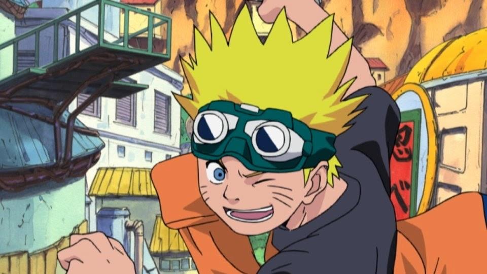 Naruto pintando rostros Hokage
