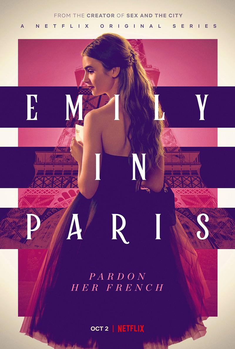 Emily Em Paris Série Netflix