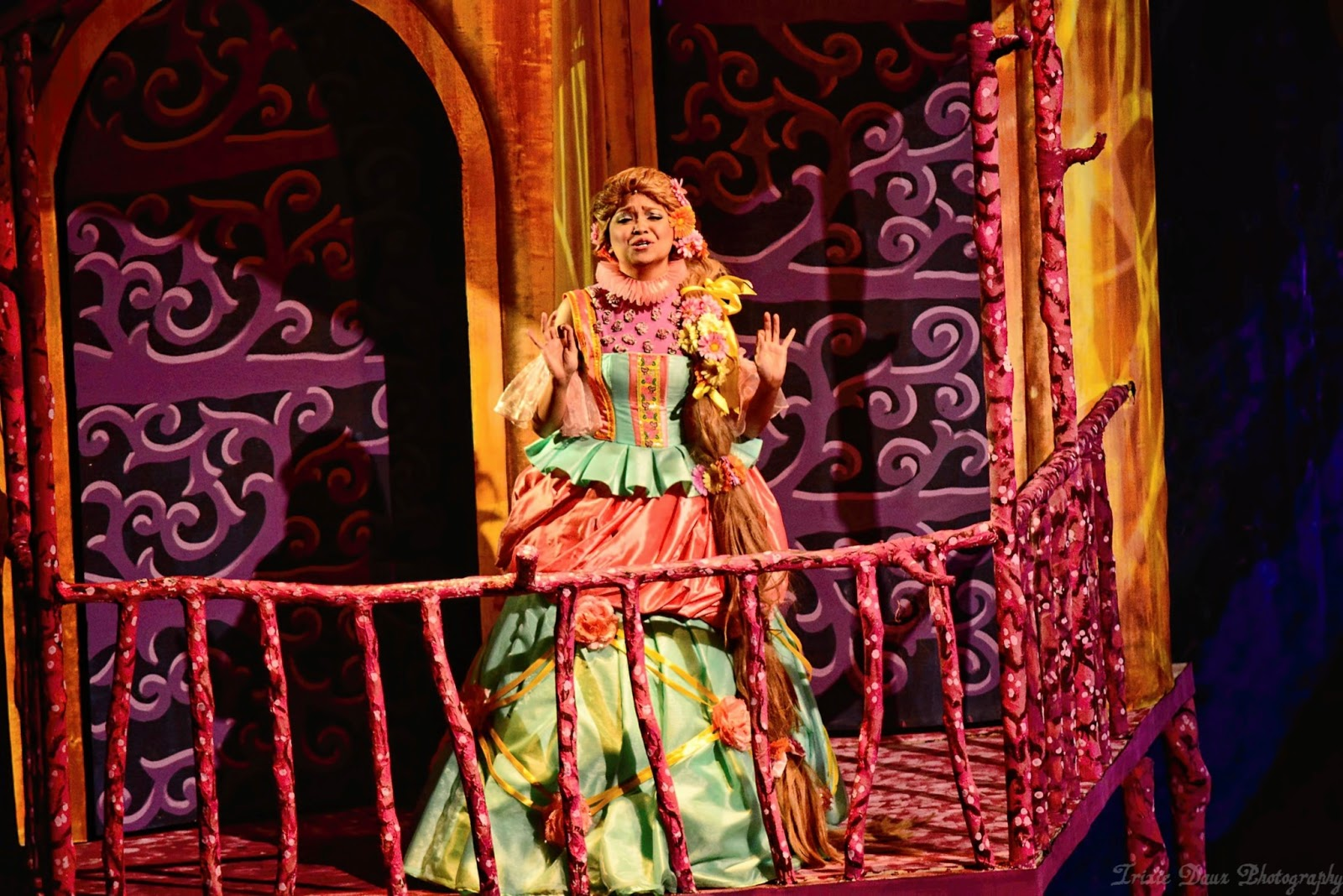 A colorful cast of characters come to life in RTYA's Rapunzel! Rapunzel! A  Very Hairy Fairytale