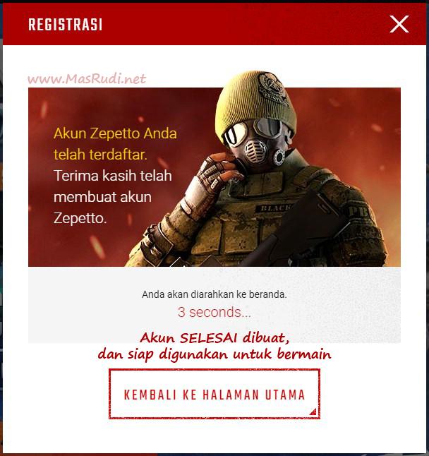 Cara Daftar Akun Point Blank Pb Zepetto Indonesia Mas Rudi