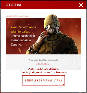Cara Daftar Akun Point Blank Zepetto