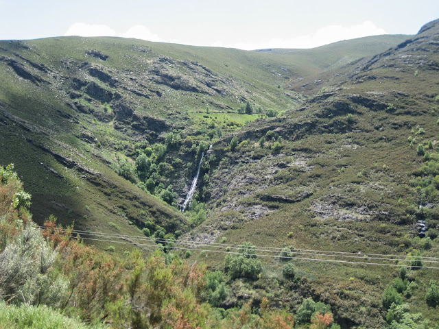 Cascada de Edrada en Vilariño de Conso