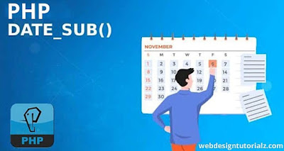 PHP date_sub() Function