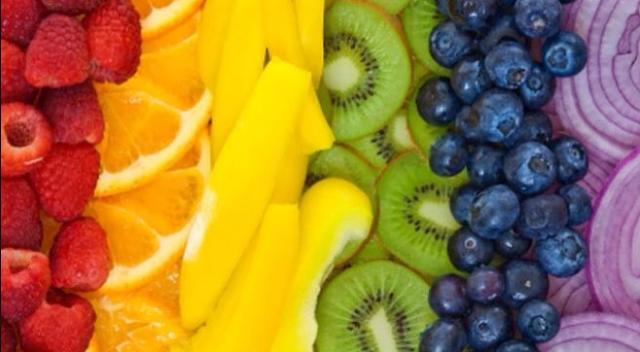 Diet Pelangi : Kiat Langsing Dengan Kombinasi Warna Makanan