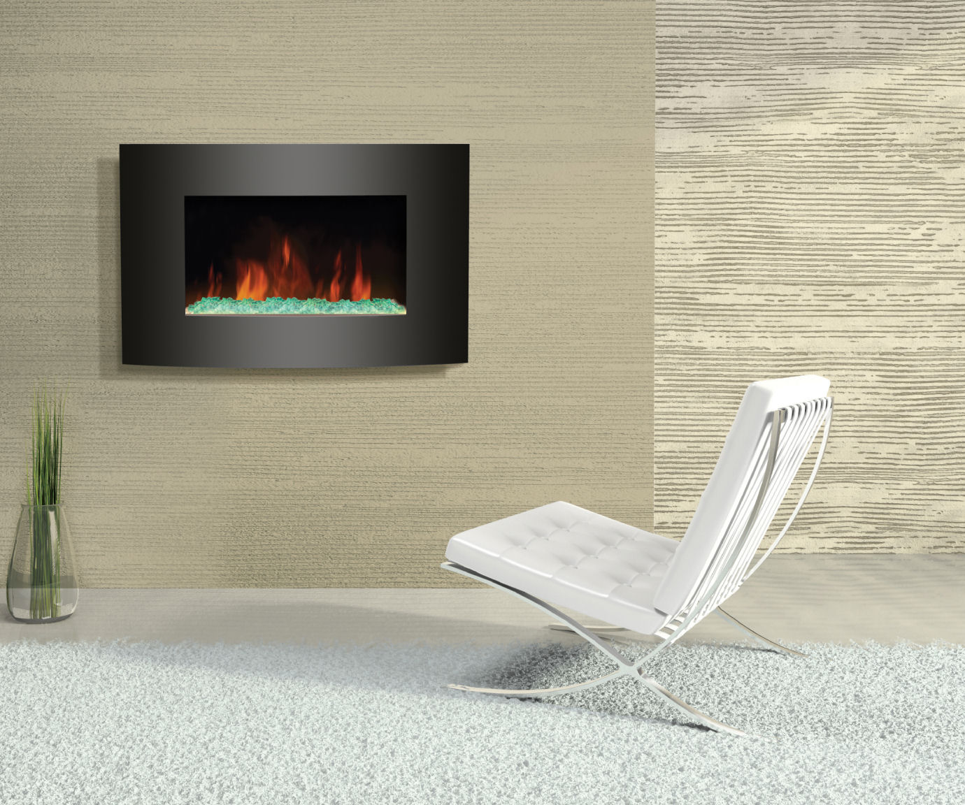 Design Savvy Interiors Electric Fireplaces Have Come A