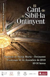 El Cant de la Sibil.la 2019  Menestrils