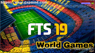 FTS 19 Mod by WorldGames Apk Data Obb