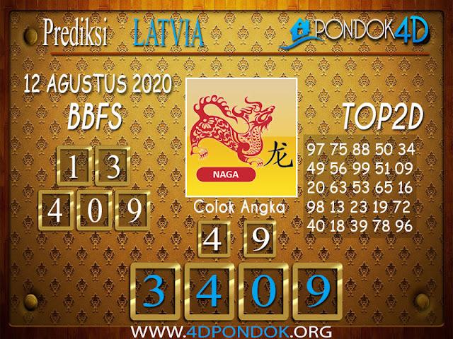 Prediksi Togel LATVIA POOLS PONDOK4D 12 AGUSTUS 2020