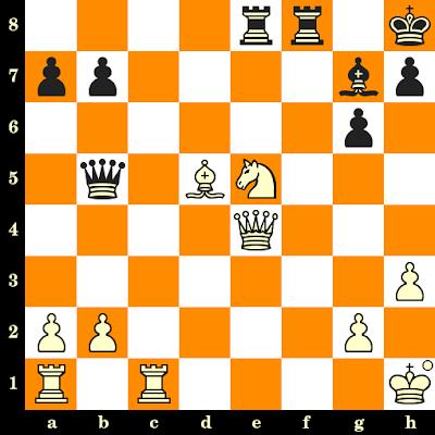 Les Blancs jouent et matent en 3 coups - Anatoliy Polivanov vs Roberto Garcia Pantoja, Internet, 2020