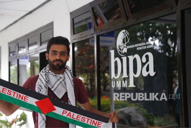 Mahasiswa Asal Palestina Rayakan Lebaran di Malang