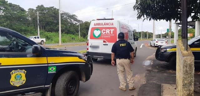 Paciente foge de unidade de saúde após furtar ambulância no Piauí