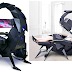 This motorized scorpion-inspired tail gaming station cost $US3,999