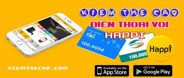 happi, app happi, happi kiếm tiền, happi kiem the cao, bật theo dõi happi kiếm tiền