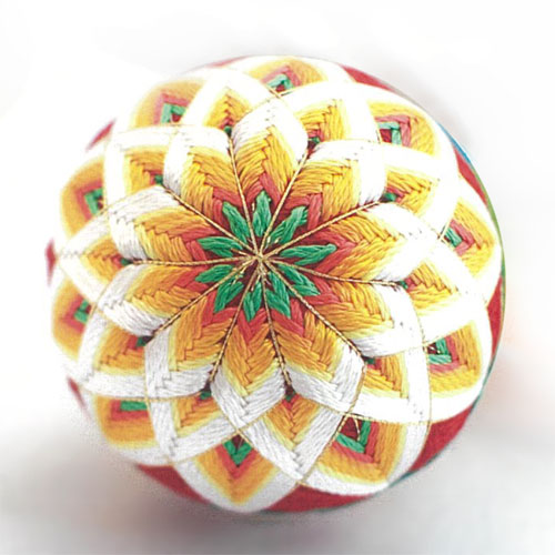 Temari Embroidery Silk