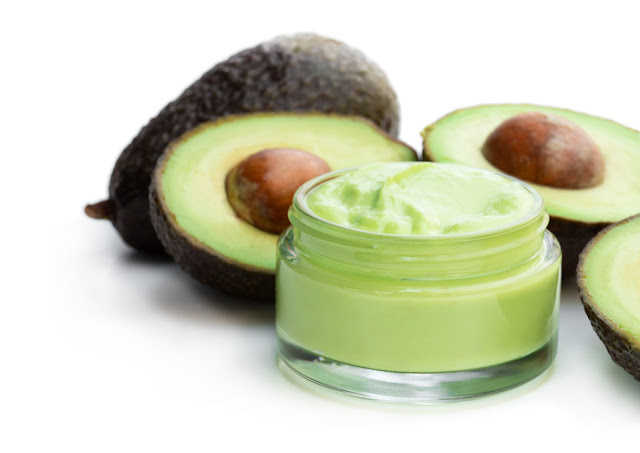 Avocado and curd face mask