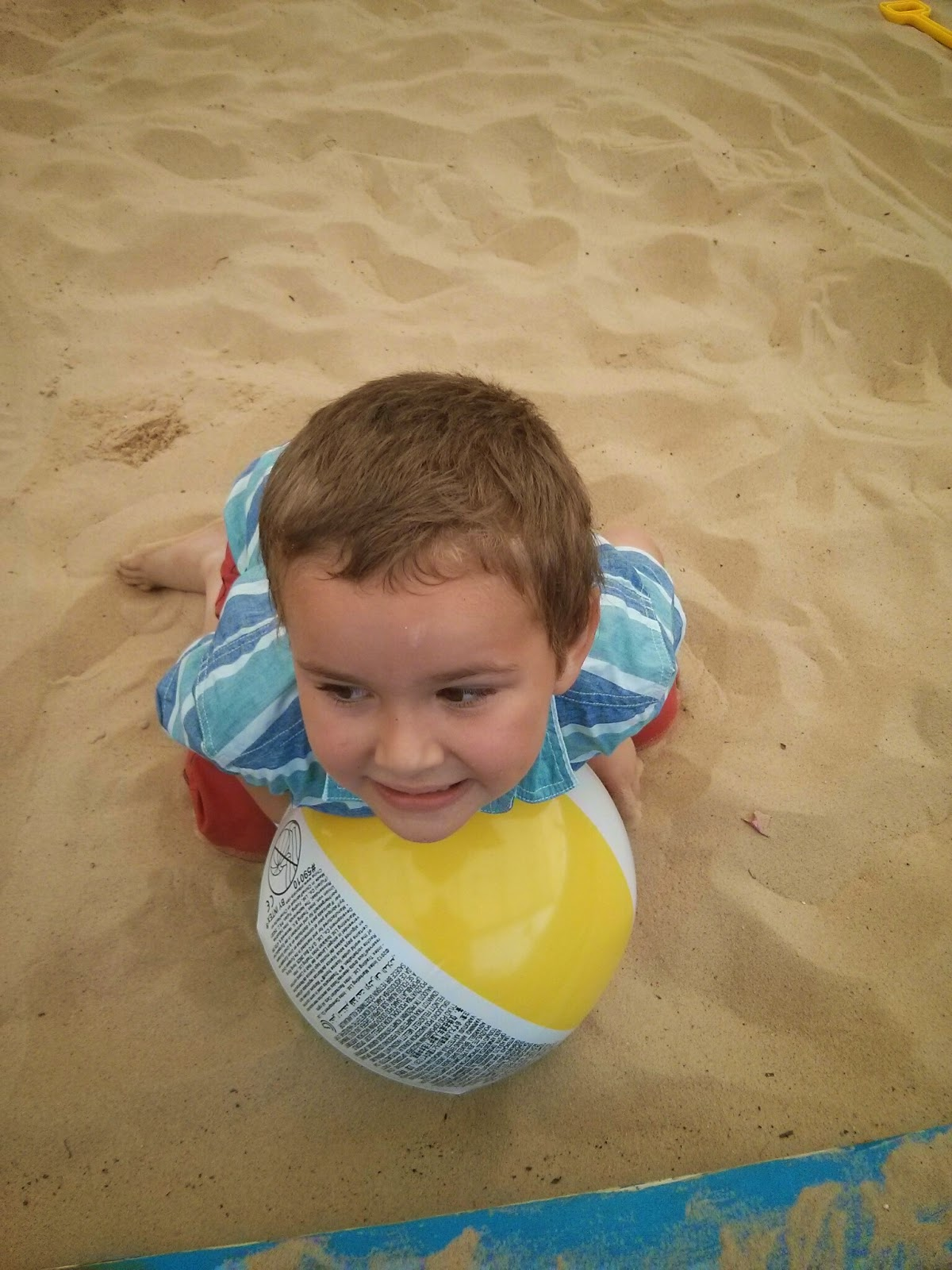 Big Boy at the Beach