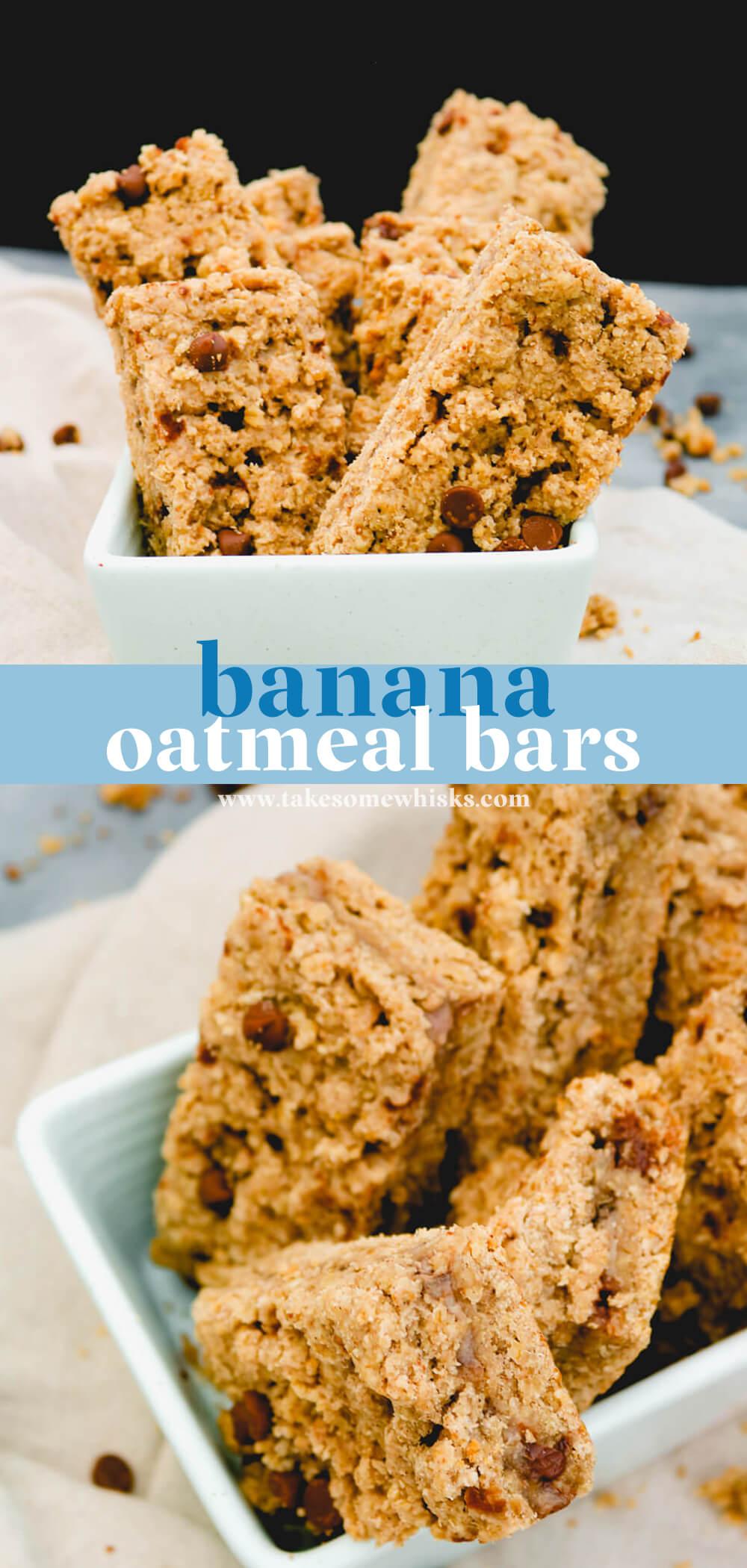 Banana Oatmeal Bars (DF)   Take Some Whisks